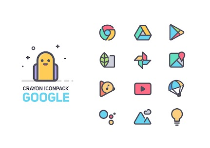 Crayon Icon Pack [Paid] v1.5 2