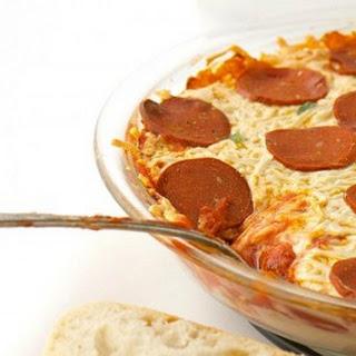 Vegan Pepperoni Pizza Dip