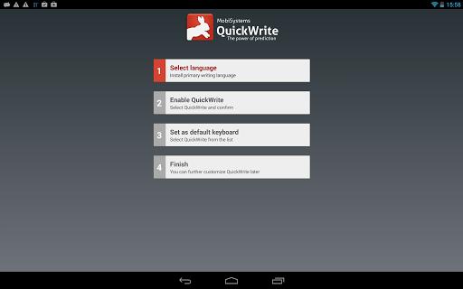 OfficeSuite QuickWrite screenshot 5