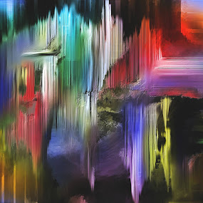 Die Heilung der Erde Glen Sande © 2016 Original Abstract Digital Painting created in Corel Painter 2016 by Glen Sande - Painting All Painting