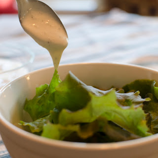 Greek Yogurt Caesar Salad Dressing.