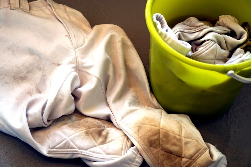 大量出血汚れのタオル