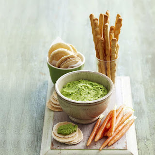 Miso Pea and Wasabi Dip