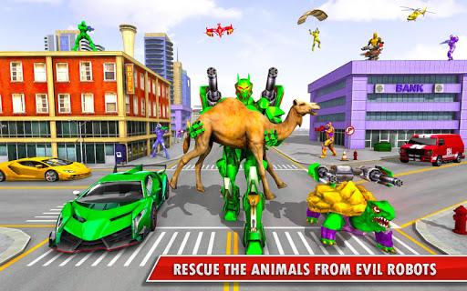 Turtle Robot Animal Rescue – Robot Car Transform 1.8 screenshots 1