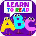 Learn to Read! ABC Letters, Phonics Games for Kids icon