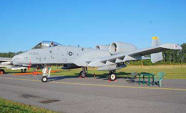 """Photo: Amerykański samolot szturmowy A-10 Thunderbolt II - tzw. """"niszczyciel czołgów"""""""