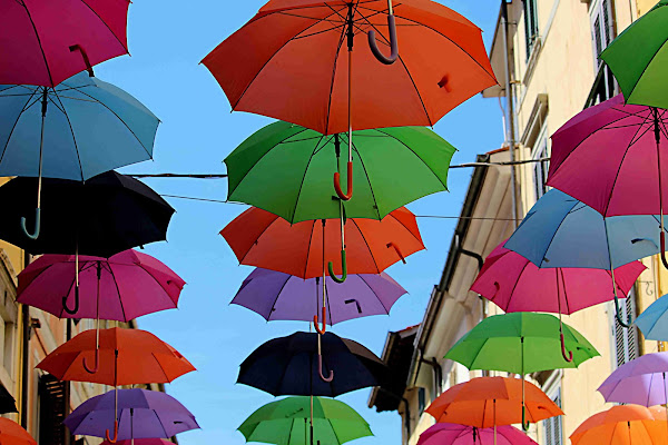 ombrelli coreografici di ottavioart