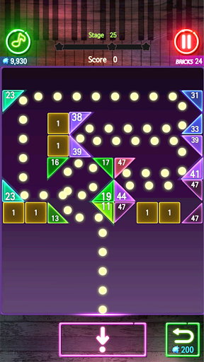 Bricks Breaker Melody apkmr screenshots 1