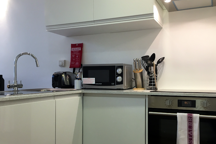 Fully equipped kitchen at Chancery Lane Deluxe