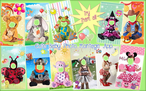 Cute Baby Photo Montage App ud83dudc76 Costume for Kids 1.1 screenshots 14