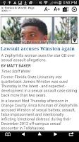 Screenshot of Tampa Bay Times e-newspaper