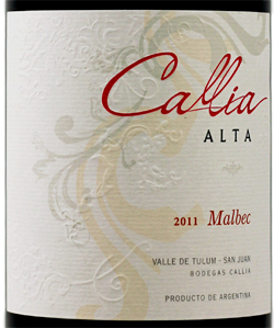 Logo for Callia Alta Malbec