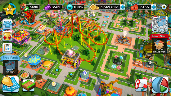 RollerCoaster Tycoon Touch – Build your Theme Park v 2 8 0 Hack MOD