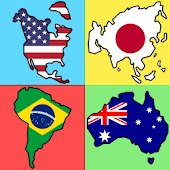 Flags Quiz - World Continents