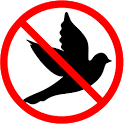 Anti bird sound icon