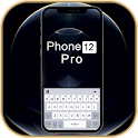 Graphite Phone 12 Keyboard Background icon