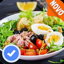 Saladas receitas:comida saudável com Nutrição Download on Windows