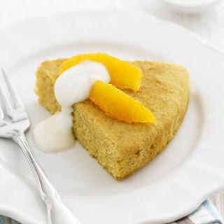 Citrus-Almond Cake.