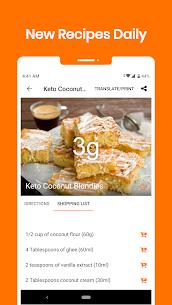 Keto Diet: Low Carb Keto Recipes & Keto Calculator 1