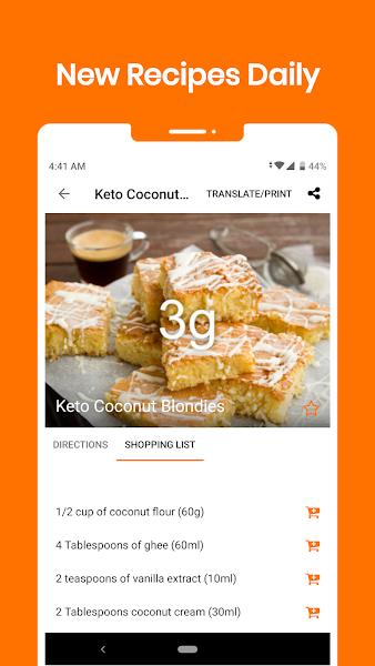 Keto Diet: Low Carb Keto Recipes & Keto Calculator