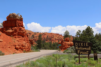 Photo: Onderweg naar Bryce Canyon
