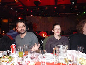 Photo: Beijing - TB dinner in russian restaurant Elephant, ES Catalan G and Lithuanian E