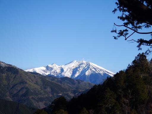 展望台から御嶽山