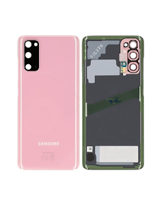 Galaxy S20 Back Cover Pink