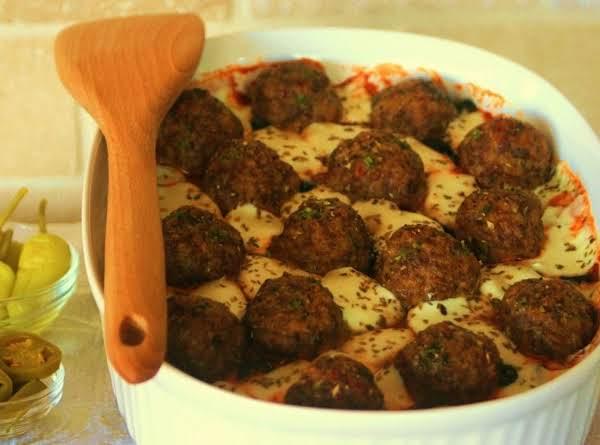 Cobblestone Pan Pizza With Sausage Meatballs