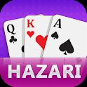 Hazari Card Game Offline icon