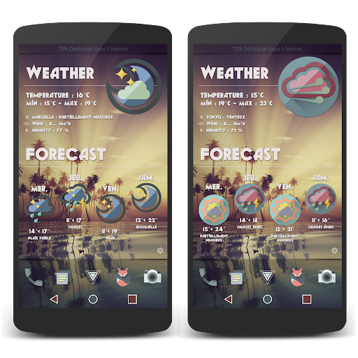 Full Material LP Widgets Set