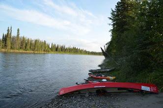 Photo: Erstes Nisutlin Camp am Nisutlin Campground