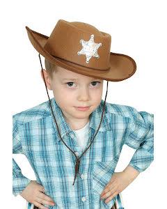 Sheriffhatt, barn