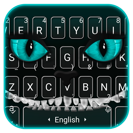 Evil Black Cat Smile Keyboard Theme Android APK Download Free By Bs28patel