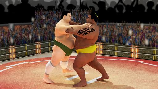 Sumo wrestling Revolution 2017: Pro Stars Fighting  screenshots 4