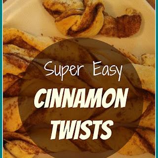 Super Easy Cinnamon Twists