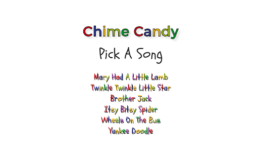 Chime Candy- screenshot thumbnail