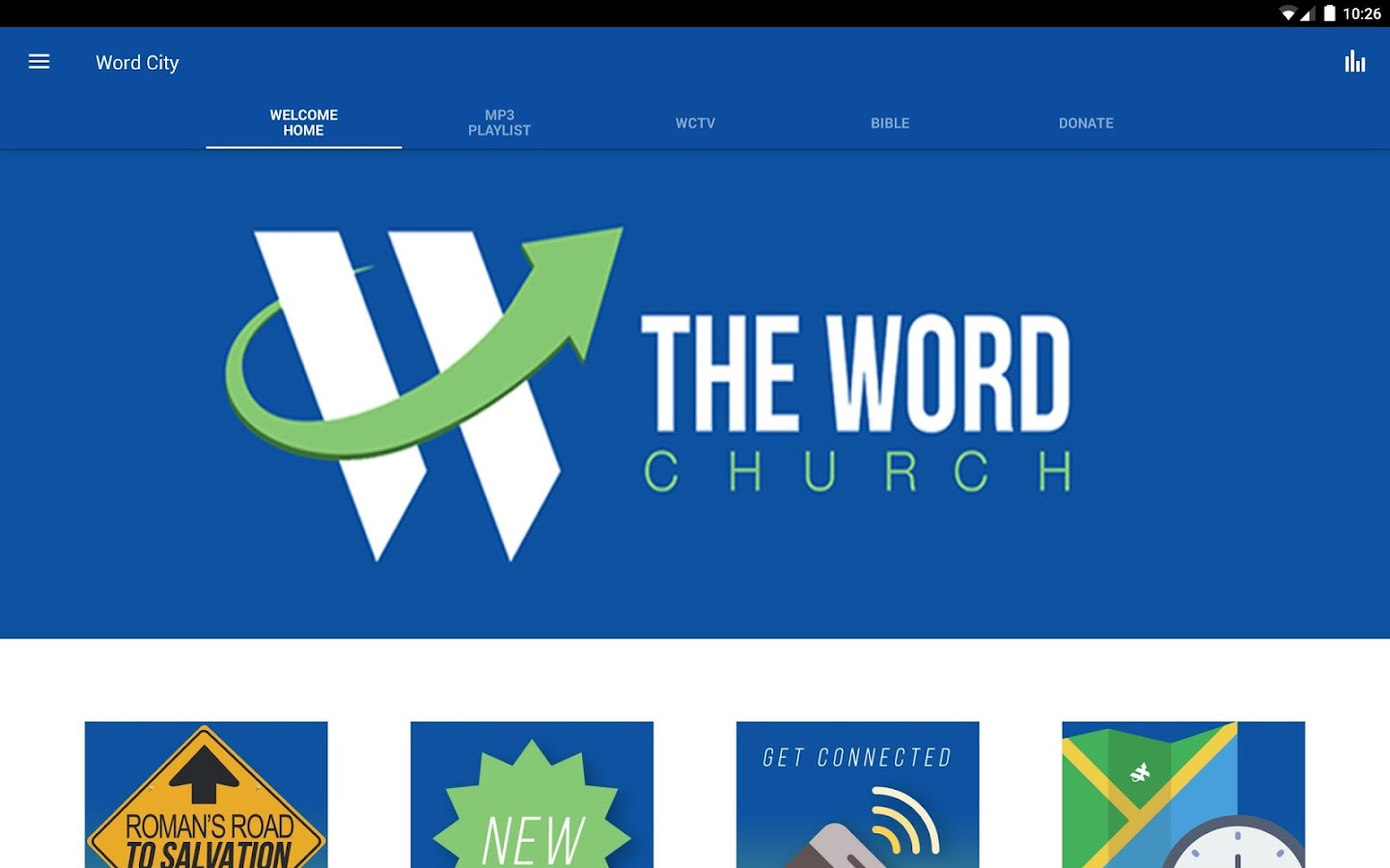 """THE WORD"" Church - Android Apps on Google Play"