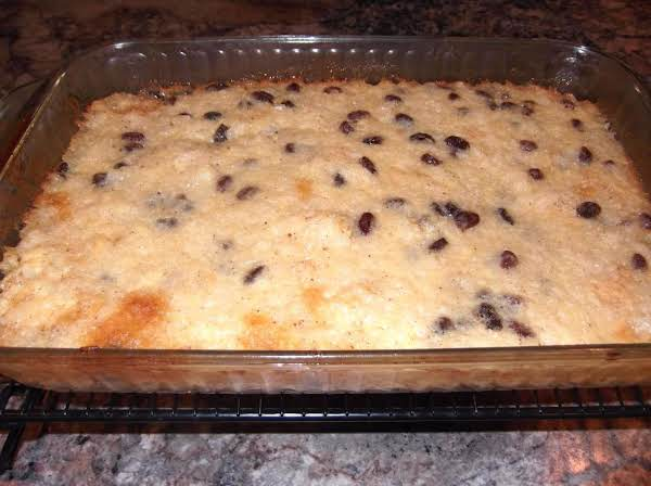 Old Fashioned Baked Rice Pudding Recipe
