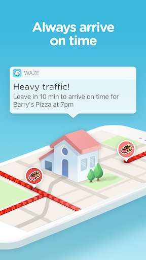 Waze - GPS, Maps, Traffic Alerts & Live Navigation 4.42.0.5 screenshots 3