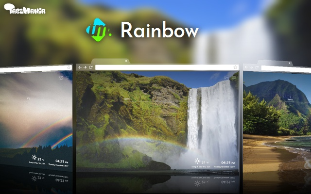 Rainbow Wallpapers New Tab
