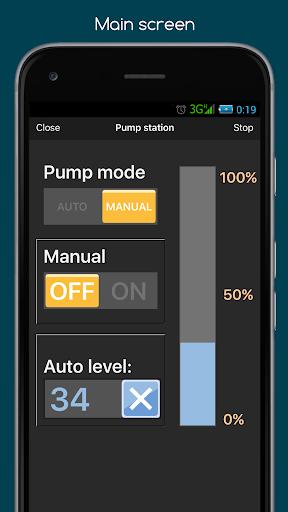 RemoteXY: Arduino control screenshot 2