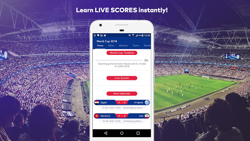 World Cup 2018 in Russia - Live Score, Match, News 6.0 screenshots 1