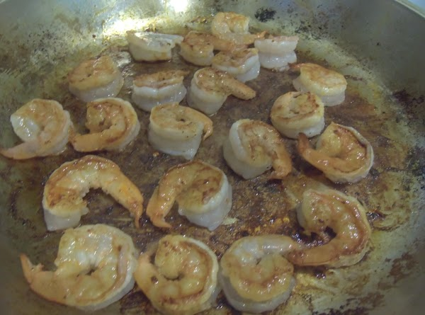 Add the shrimp and cook until just underdone. Remove from pan. Now add some...