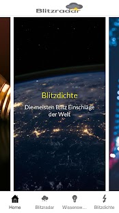 Blitzradar: Blitzortung - Gewitter Radar Screenshot