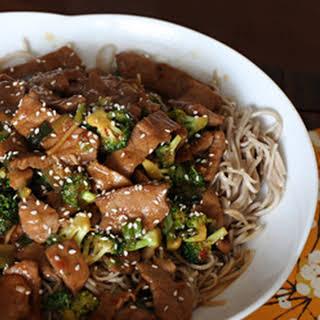 Pork and Noodles.