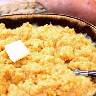Cauliflower and Sweet Potato Mashers.