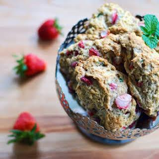 Strawberry-Mint Scones.