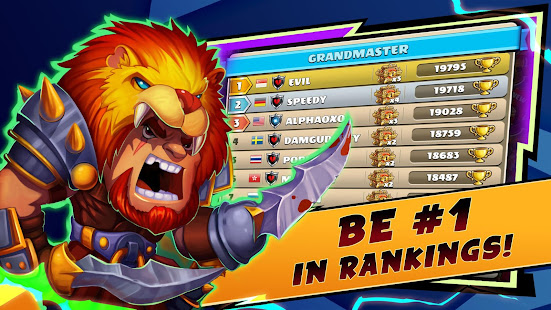 Hack Game Mighty Party: Heroes Clash apk free