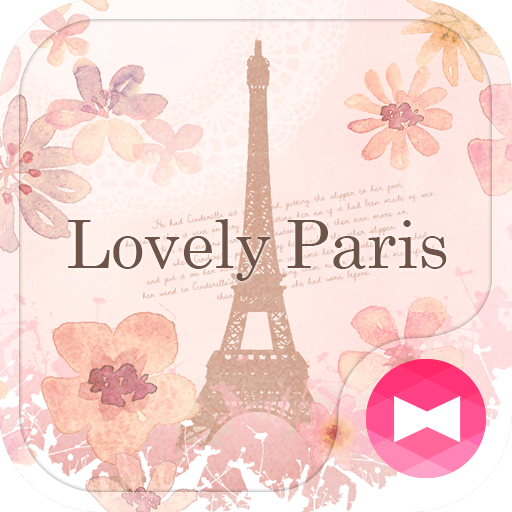 Cute Theme-Lovely Paris- Icon